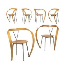 Andrea Branzi - Cassina - Revers Chairs - Six