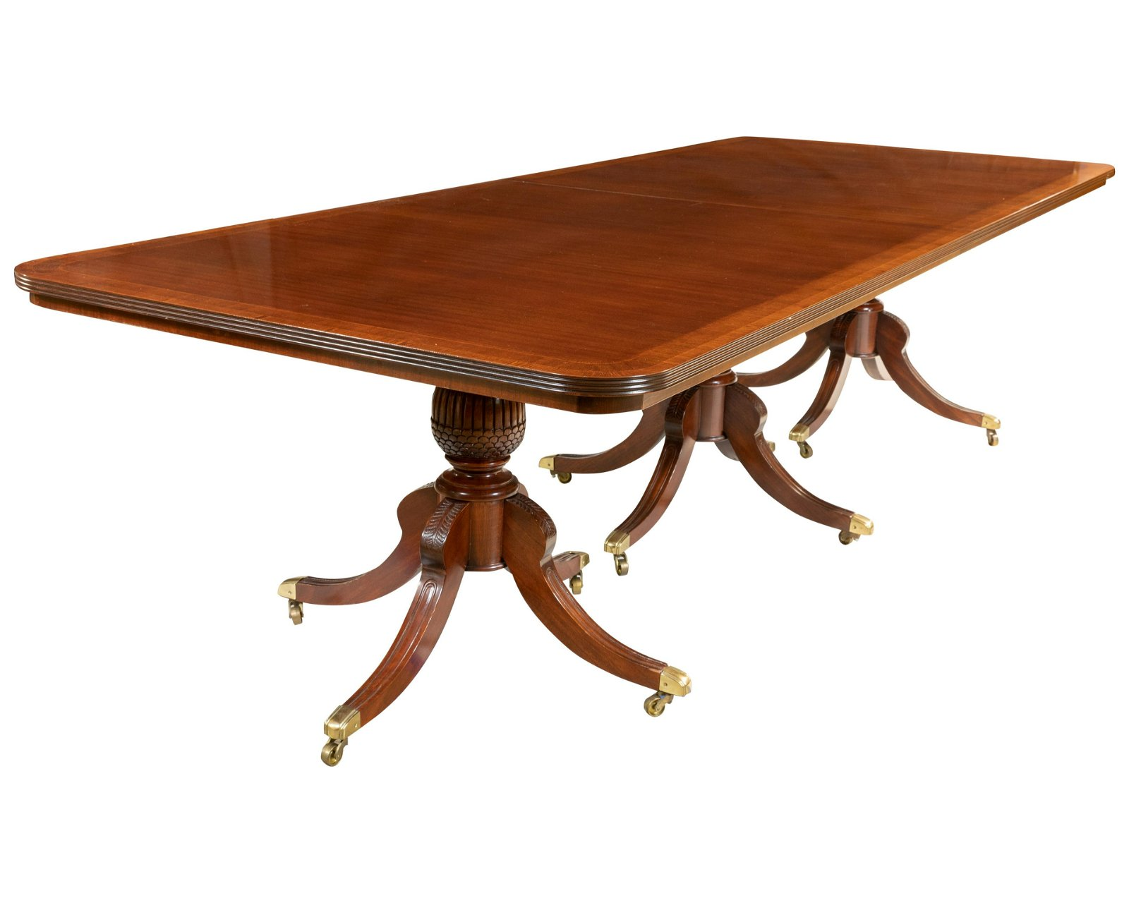 Satin Banded Dining Table