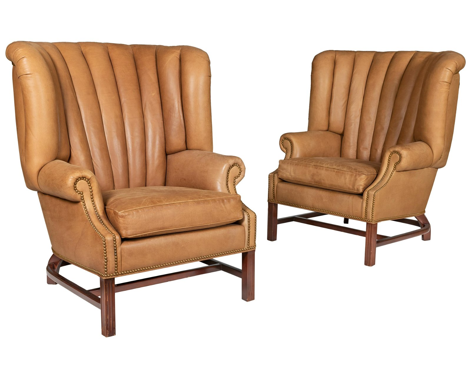 Hancock & Moore - Leather Library Chairs