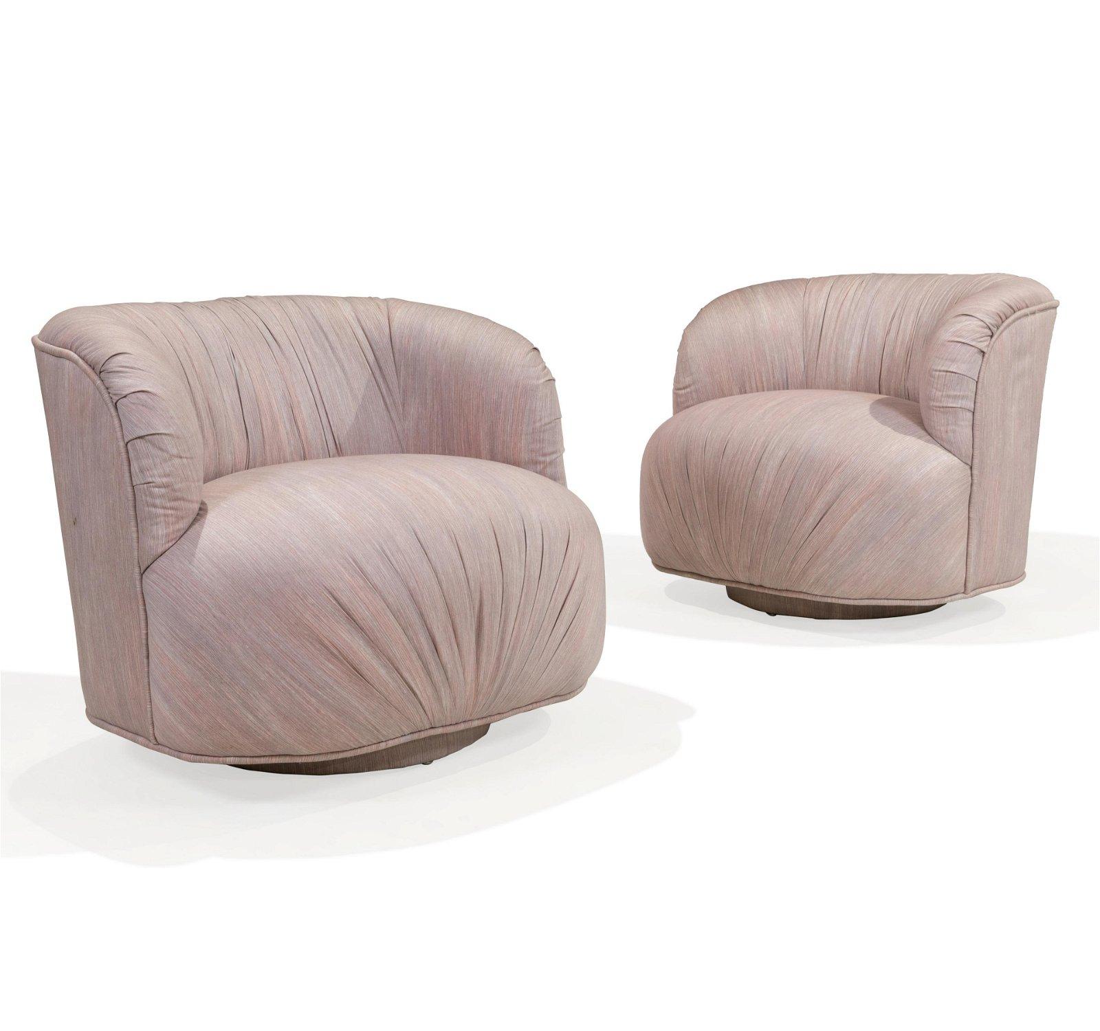 Vladimir Kagan - Weiman - Swivel Chairs