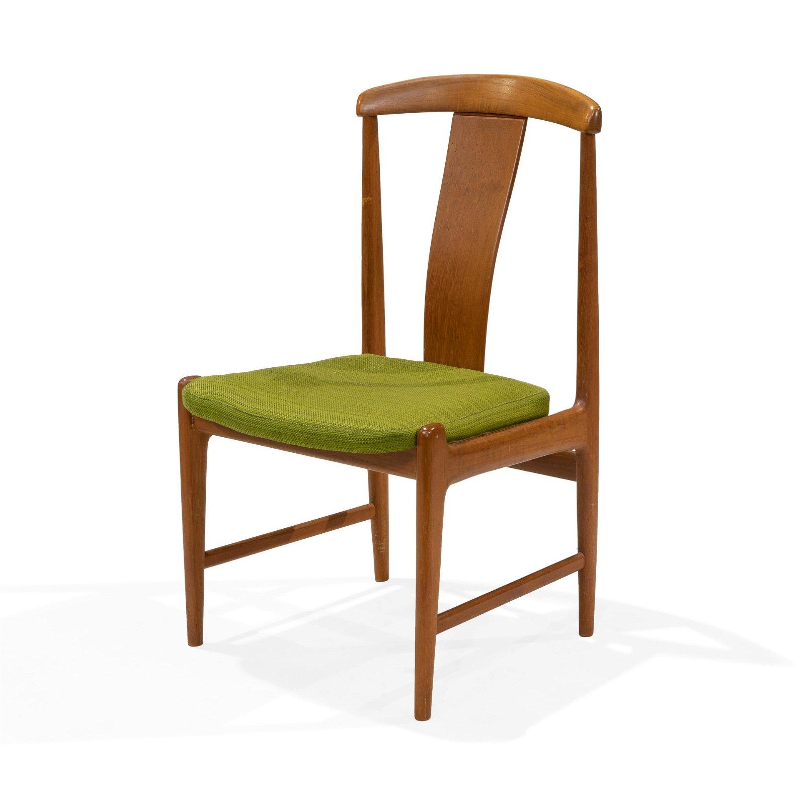Dux - Teak Desk Chair