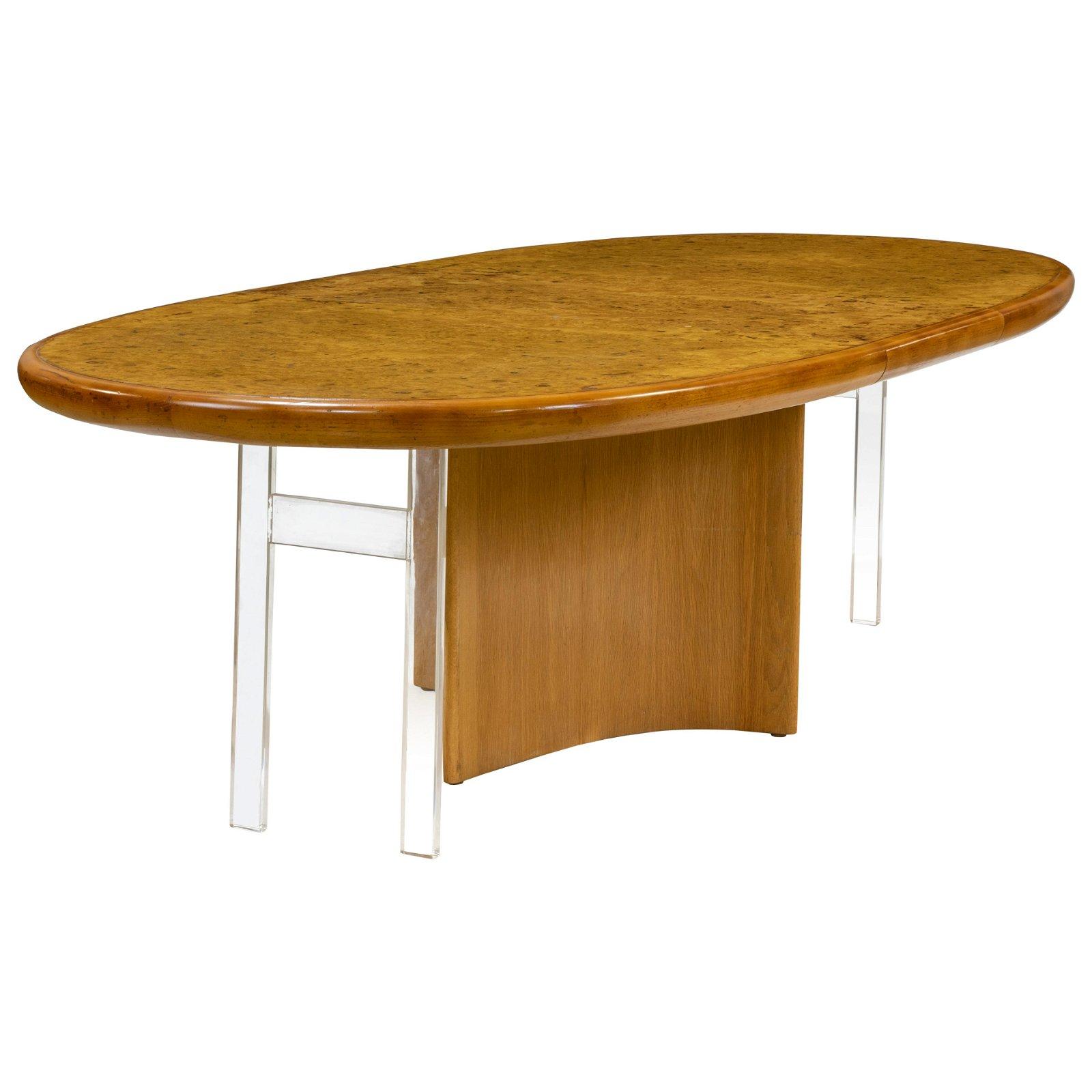Vladimir Kagan - Intaglio Burl Dining Table