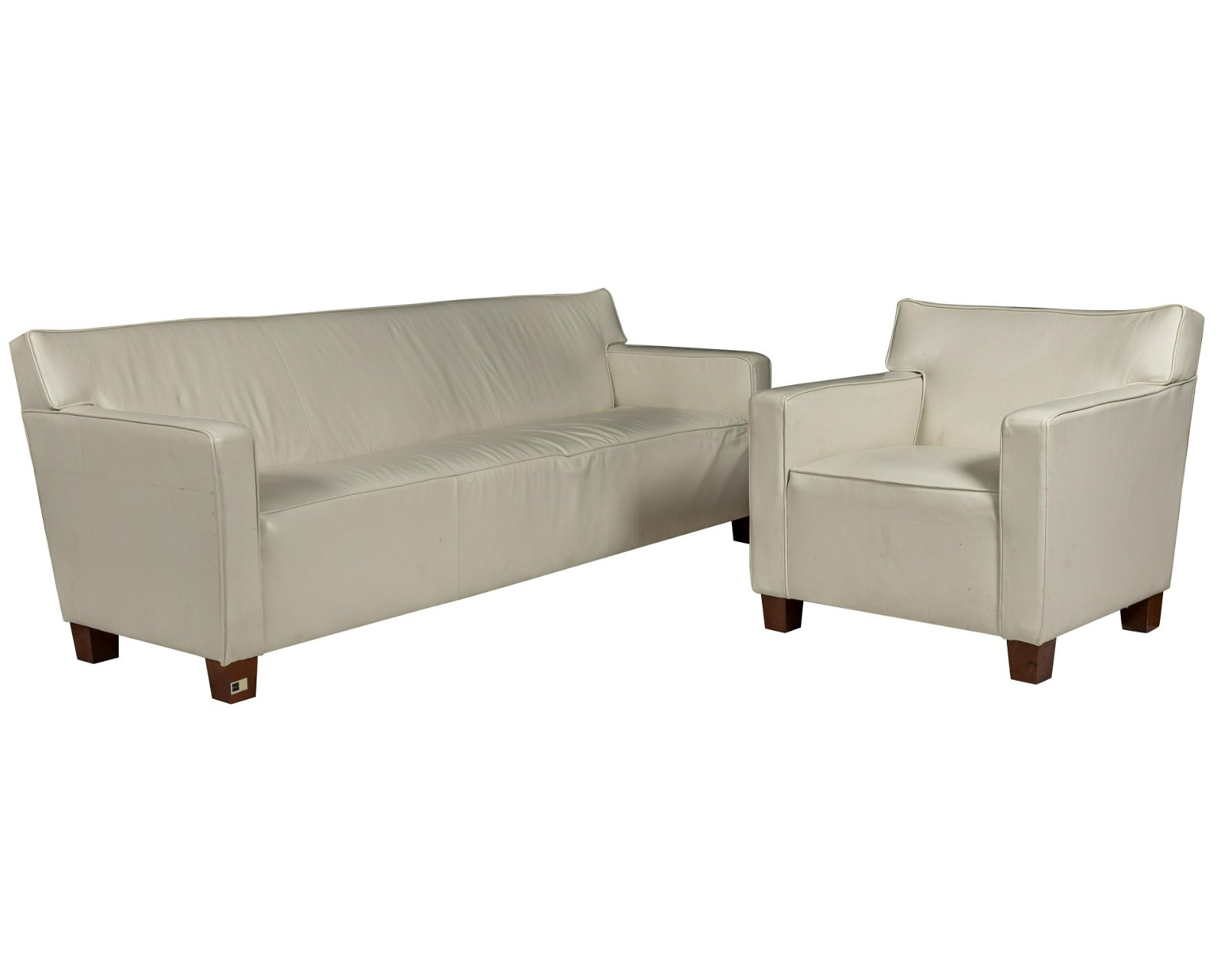 Modern Style Leather Chair and Sofa