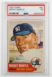 Topps - 1953 Mickey Mantle Baseball Card