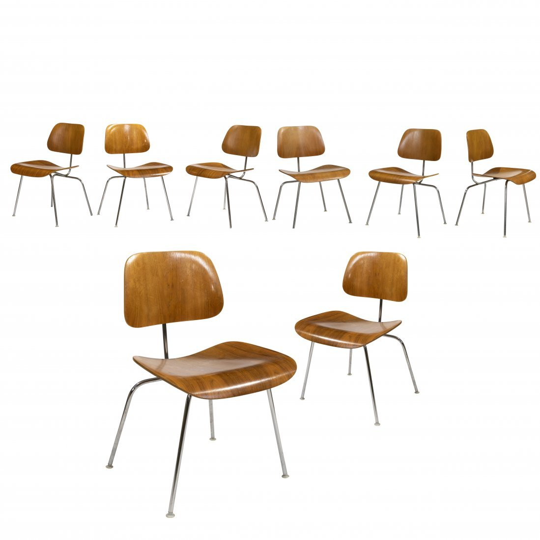 Charles & Ray Eames - DCM - Set of Eight