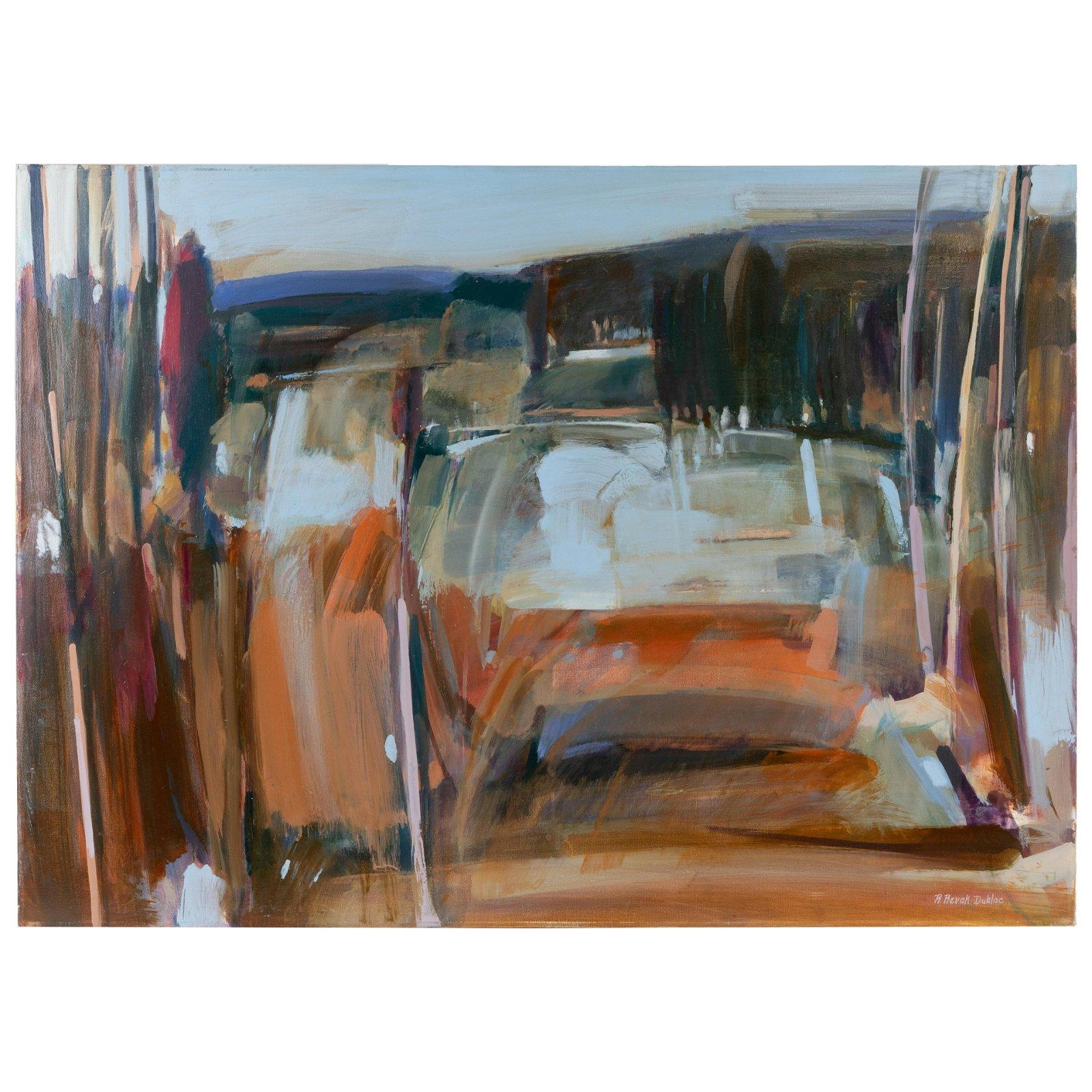 R. Revak Dublac - Oil on Canvas