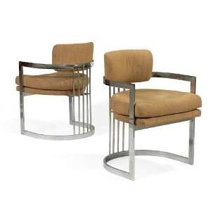Milo Baughman - Thayer Coggin - Arm Chairs