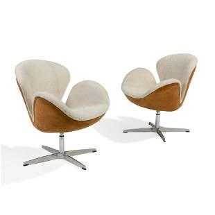 Swan Chairs - Pair
