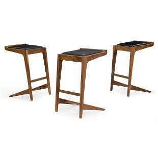 Organic Modernism - Walnut Bar Stools - 3