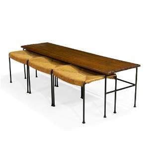 Arthur Umanoff - Bench and Stools