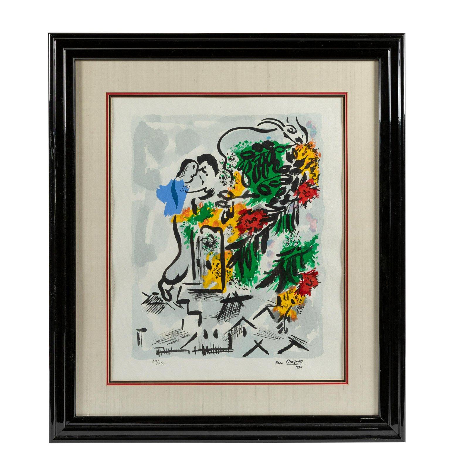 Marc Chagall - Lithograph
