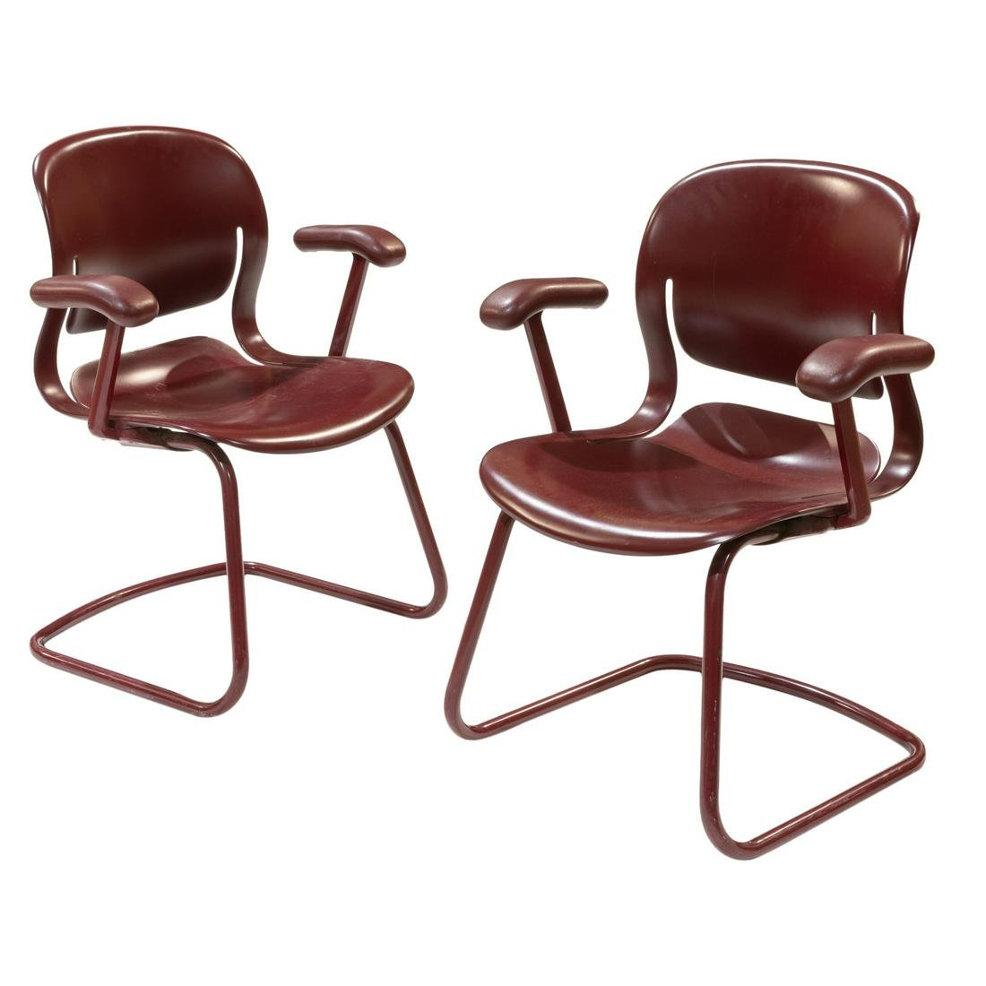 Herman Miller Arm Chairs