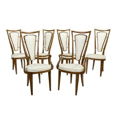 John Widdicomb Mid Century Dining Chairs Jun 27 2020 Regency Auction House In Nj