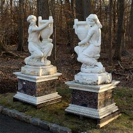 Large Marble Women - Pair
