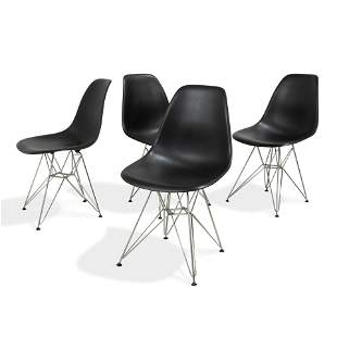 Eames Style Kitchen Chairs - 4