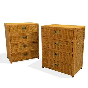 Wicker Chests