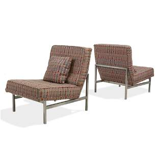 Florence Knoll - Model 2551 Lounge Chairs