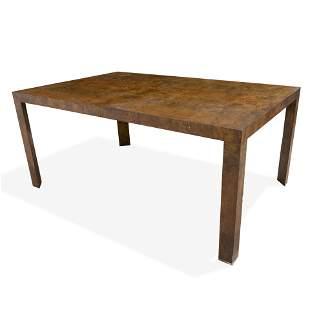 Dunbar - Burl Dining Table