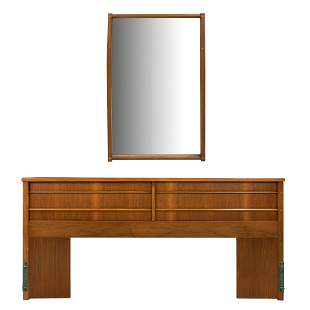 Kent Coffey - King Headboard and Mirror