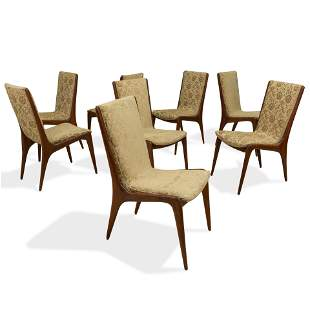 Teak Dining Room Chairs - 8