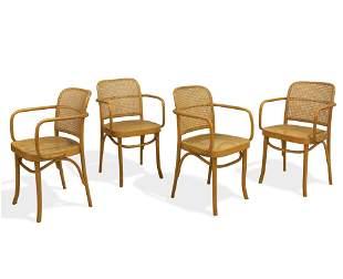 Joseph Hoffman - Cane Chairs - 5