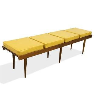 Long Slat Bench