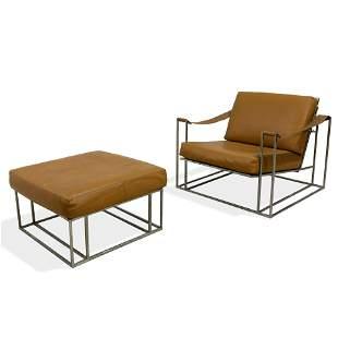 Milo Baughman - Lounge Chair and Ottoman