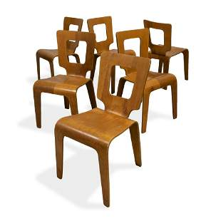 Thaden-Jordan - Bent Plywood Chairs - 6