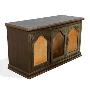 Animal Hide Cabinets