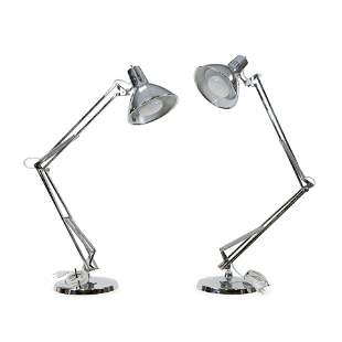 Luxo - Adjustable Lamps - Pair