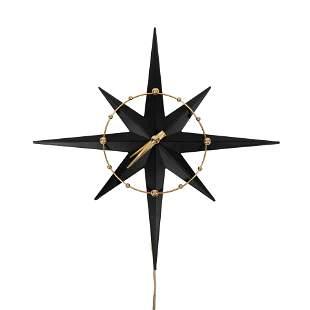 Haddon Starlite #103 Starburst Wall Clock