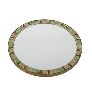 Bronze and Tile Mirror