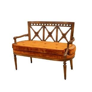 Regency Style Bench