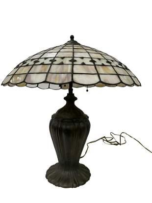 Handel Style Leaded glass Lamp