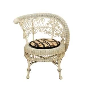 Victorian Wicker Chair