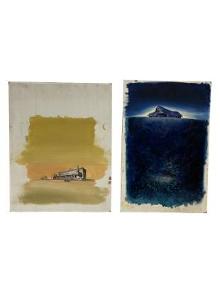 Joseph Cellini - Oil on Board - 2