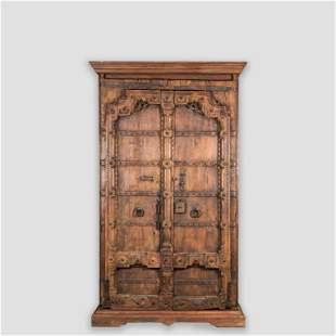 Monumental Middle Eastern Pine Armoire
