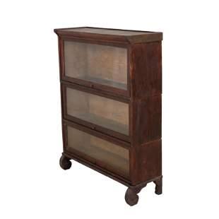 Mahogany 3 Stack Bookcase