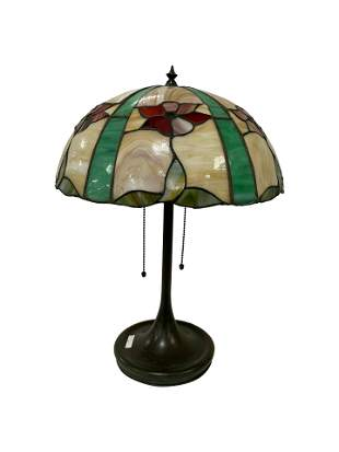 Handel Style Leaded Lamp