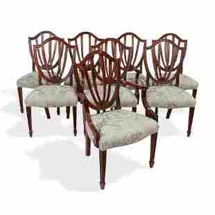 Baker - Charleston Mahogany Dining Chairs 8