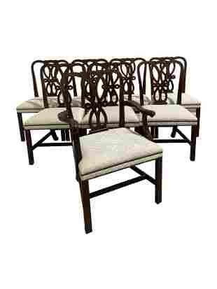 Baker - Mahogany Dining Chairs - 8