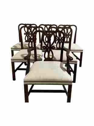 Baker - Mahogany Dining Chairs - 6