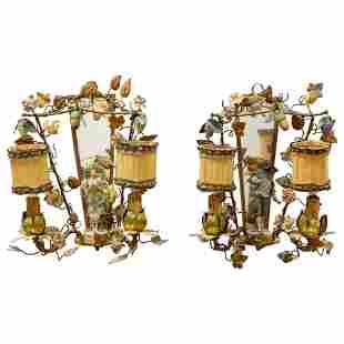Italian Figural Sconces