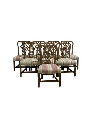 Chippendale Style Dining Chairs - 8