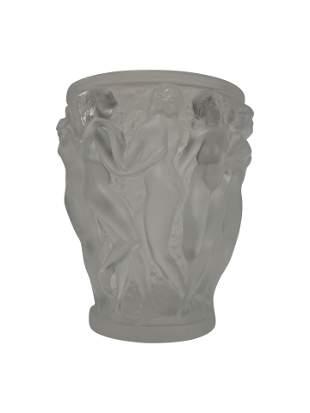 Lalique France Bacchantes Vase
