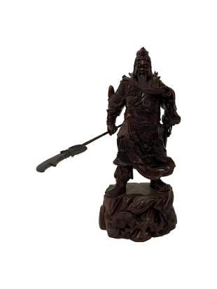 Carved Samurai Warrior