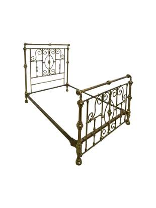 Brass Full Size Bed