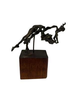 Mini Bronze Signed