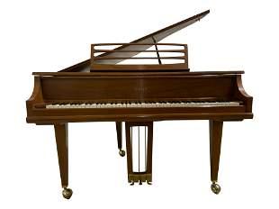 Kimball Walnut Baby Grand Piano