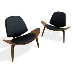Hans Wegner Style - Shell Chairs